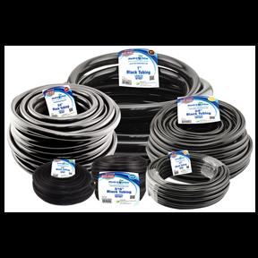 Black Vinyl Tubing - 3/16 in ID x 1/4 in OD - Heavy Duty - per foot