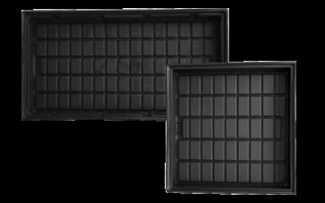 ID Black Grow Trays by Duralastics