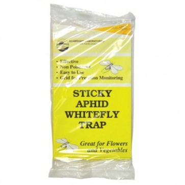 Sticky Whitefly Traps 5/Pk