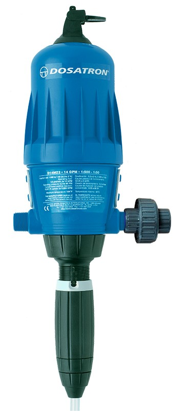 Dosatron Water Powered Doser 14 GPM 1:500 to 1:50 (D14MZ2VFBPHY)