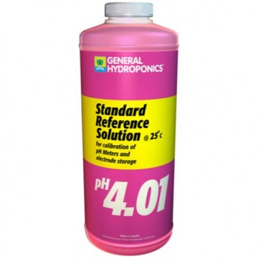 pH 4.01 Calibration Solution - quart
