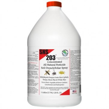 SNS 203 Concentrated Pesticide Gallon