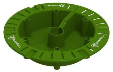 "FloraFlex 9""-12"" Round Flood & Drip Shield w/ 2mm Gravity Drippers"