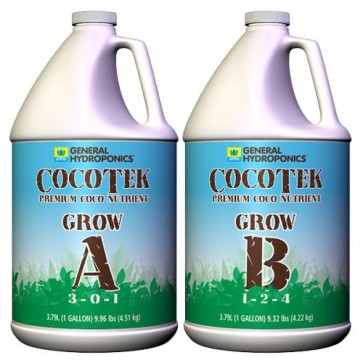 CocoTek Coco Grow A & B by General Hydroponics