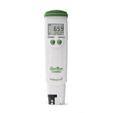 Hanna GroLine Combo Waterproof pH/EC/TDS/Temperature Tester