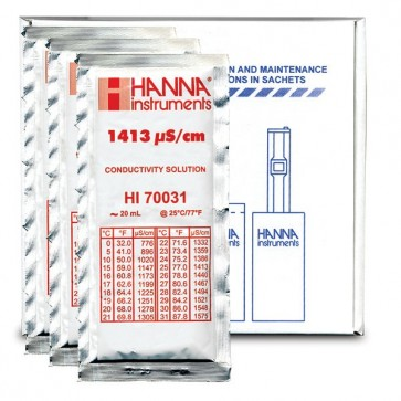 1413 mS/cm Calibration Solution - 20ml Sachet