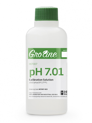 GroLine pH 7.01 Calibration Solution - 230ml