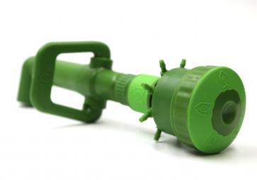 """FloraFlex Quick-Disconnect Pipe System - Open Flow Bubbler - 1"""" Elbow"""