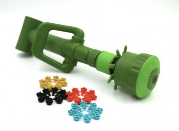 "FloraFlex Quick-Disconnect Pipe System - Multi Flow Bubbler - 3/4"" Tee"