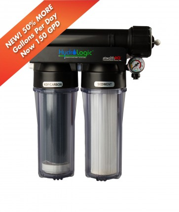 Hydro-logic Stealth RO 150 Reverse Osmosis System w/KDF Carbon Filter