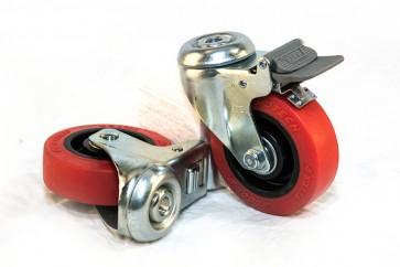 "Centurion Pro 4"" Wheels (pair) - Gladiator"
