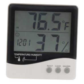 EcoPlus Large Display Temp/Humidity Gauge