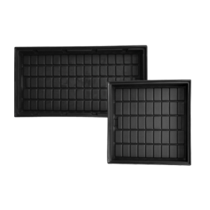 ID Black Grow Trays by Duralastics
