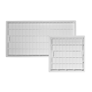 ID White Trays by Duralastics
