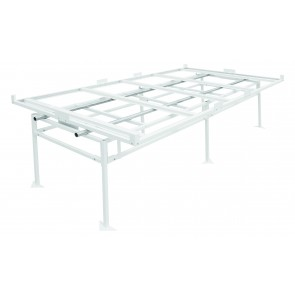 Fast Fit Rolling Bench Tray Stand 4 ft x 8 ft