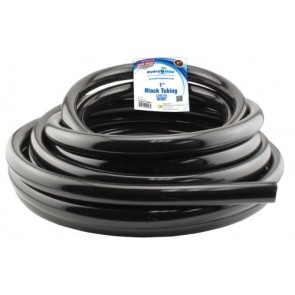 Black Vinyl Tubing - 1 in ID x 1.25 in OD - per foot