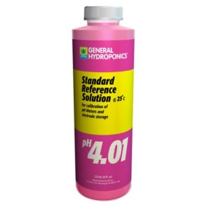 pH 4.01 Calibration Solution - 8 ounce