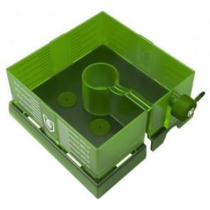 FloraFlex Square Flood & Drip Shield w/ 2mm Gravity Drippers - 6 in