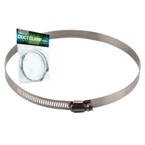 Ideal-Air Stainless Steel Hose Clamps - pair