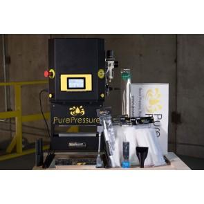 "Pikes Peak Complete Rosin Press V2 Kit - 2"" x 9"" Bags & Mold (10""x3"" Plates)"