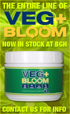 VEG+BLOOM in stock at BGHydro!