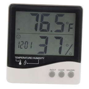 EcoPlus Large Display Temp/Humidity Gauge