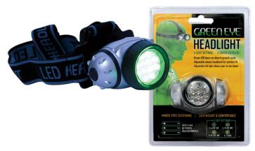 Green Eye LED Headlight