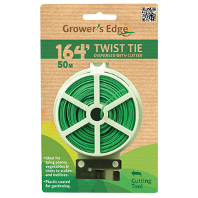 Twist Tie Dispenser w/ Cutter - 164 ft