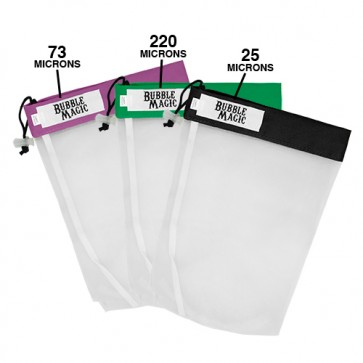 Bubble Magic All Mesh Extraction Bags - 5 Gallon, 3 Bag Set