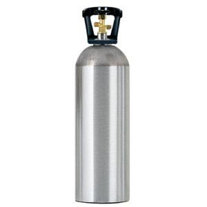 20# Aluminum CO2 Tank - EMPTY