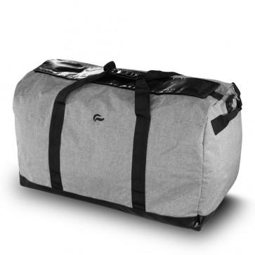 SkunkGuard Odor-Proof Midnight Express XL Large Duffle - Gray