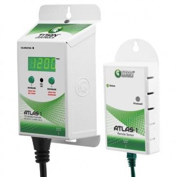 Titan Controls Atlas 1 CO2 Monitor / Controller w/ Remote Sensor