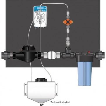 Etatron eOne Micro-Dosing Pump 1.5 in - Assembled Panel (Right to Left)