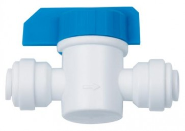 HydroLogic QC Inline Shut Off Valve 1/4""