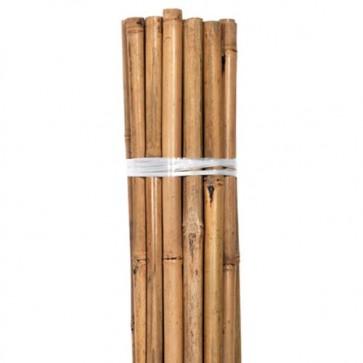 Grower's Edge Natural Bamboo 8 ft Bulk (50/Pack)