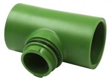 """FloraFlex Flora Pipe Fitting Only - 1"""" Tee"""
