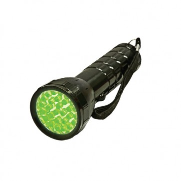 Large Green LED Flashlight