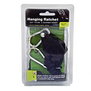 "Rope Ratchet Light Hanger - 1/8"" Pair"