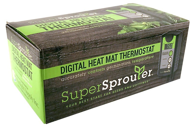 Heat Mat Thermostat Digital Propagation Everything Else