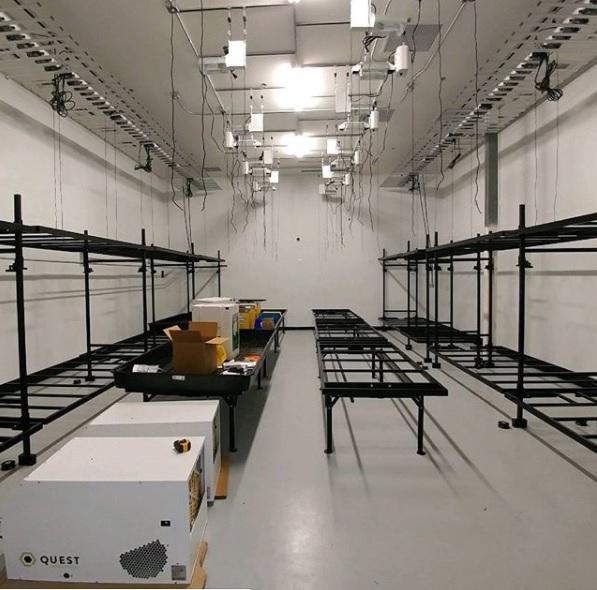 4ft x 8ft Nursery Rack - Two Tier - V2