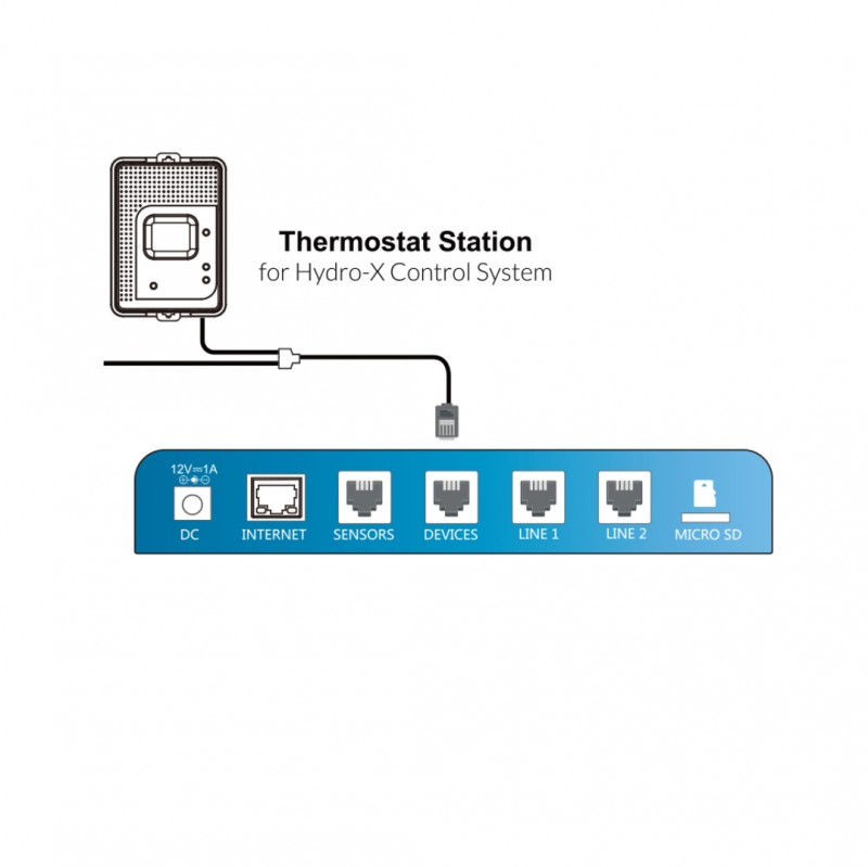 Trolmaster Hydro X Thermostat Station Cool Only