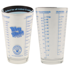 Big Shot Measuring Glass 16 ounce