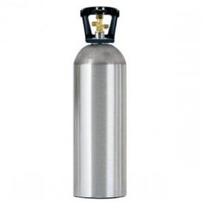 20# Aluminum CO2 Tank - EMPTY