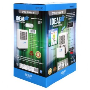 Ideal-Air Dehumidifier 80 Pint
