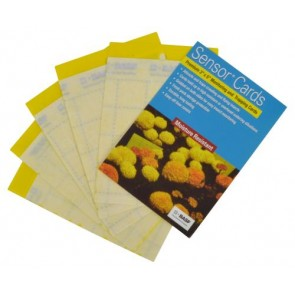 Sensor Yellow Monitoring Cards 50/Pack