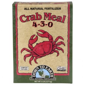 Down To Earth Crab Meal - 5 lb