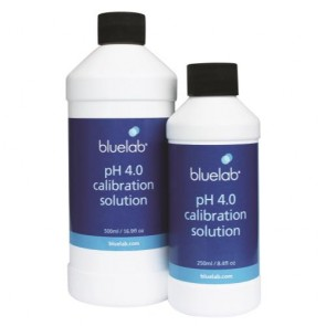 Bluelab pH 4.0 Calibration Solution - 250 ml
