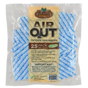 Harvest Keeper Air Out Oxygen Absorber 500 cc (25/Bag)