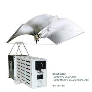 600 HPS Adjust-A-Wing DIGITAL Grow Light System