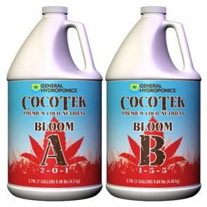 CocoTek Coco Bloom A & B by General Hydroponics